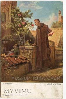 Spitzweg - Monk zakonnik - wspomnienia marzenia