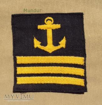 Oznaka stopnia szwedzkiej marynarki - st.kapral