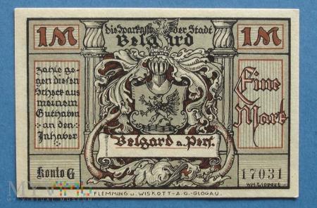 1 Mark 1921 - Belgard a. Pers.- Białogard