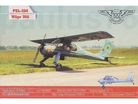 PZL-104 Wilga 35A, SP-AGW