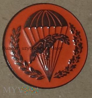 Odznaka spadochronowa WPD 6 PDPD - pomarańczowa