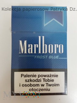 Papierosy MARLBORO Frost Blue 20 szt. 2013 r.