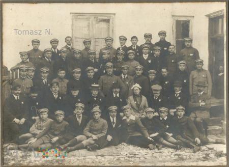 Duże zdjęcie Siedlce uczniowie Gimnazjum Hetmana Żółkiewskiego