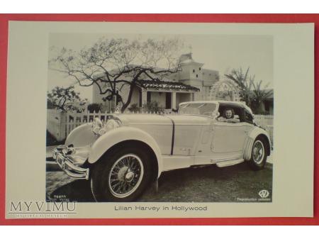 Lilian Harvey i Mercedes Benz SS Sport 1932