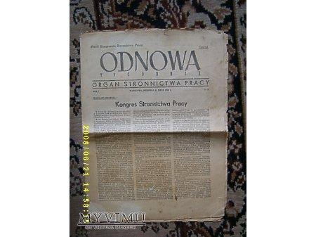 """""""Odnowa"""",nr.20-1946 r."""