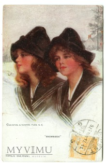 Philip Boileau Snowbirds Zimowe dziewczyny 1925