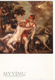 Tycjan - Venus i Adonis