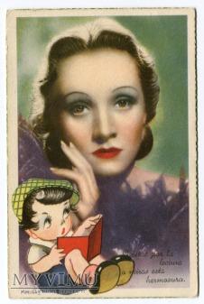 Duże zdjęcie Marlene Dietrich FARIÑAS SOBE ESPAÑA c. 1940