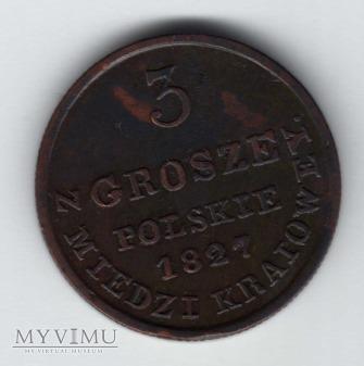 3 grosze 1827