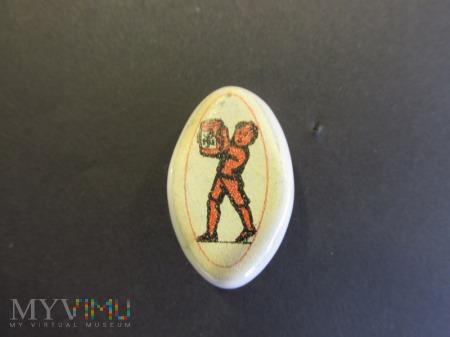Porcelanowa odznakaWHW