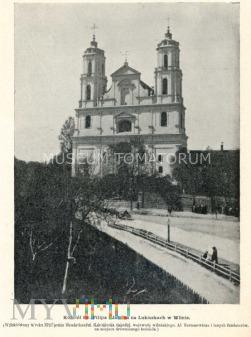 Wilno - Kościół św. Filipa i Jakuba