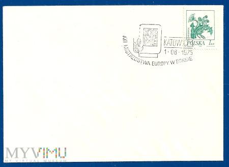 XXI Mistrzstwa Europy w Boksie-Katowice.1.6.1975.e