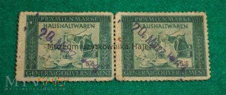 Haushaltswaren Generalgouvernement Bony 1944 rok