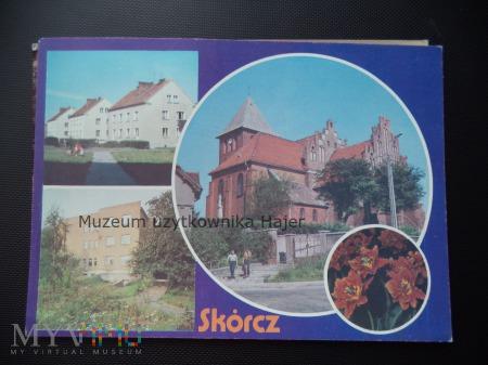 SKÓRCZ Osiedle mieszkaniowe .Kościół z XIV w. rozb