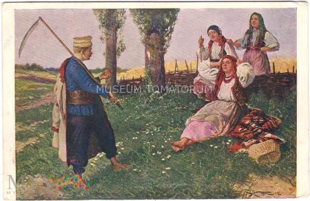 Setkowicz - Wiejski Parys - 1911