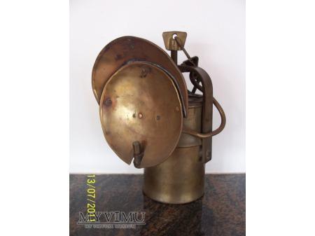LAMPA GÓRNICZA KARBIDOWA - typ A2 - 1955r