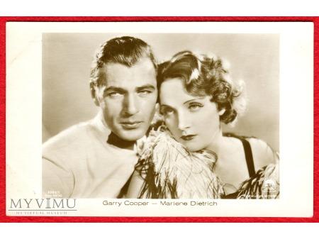 Duże zdjęcie Marlene Dietrich Gary Cooper Verlag ROSS 5380/1
