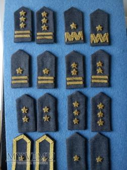 patki kołnierzowe Sił powietrznych PSZ.