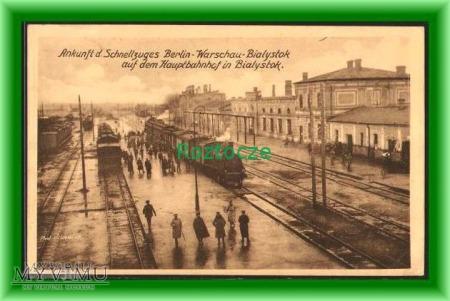 BIAŁYSTOK Dworzec kolejowy