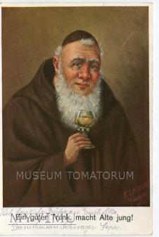Monk Friar Mönch capucin zakonnik - degustacja 6