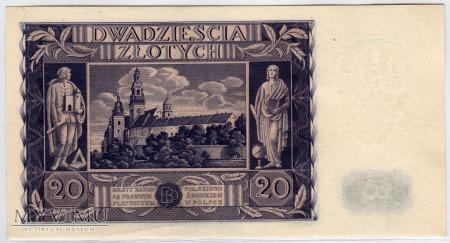 11.11.1936 - 20 Złotych