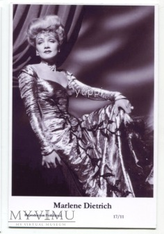 Marlene Dietrich Swiftsure Postcards 17/11