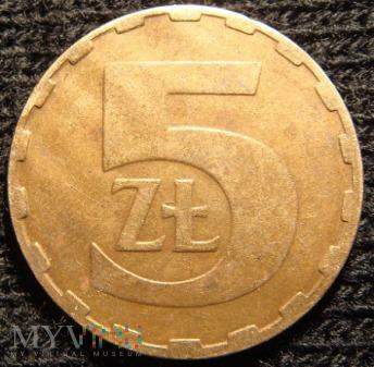 5 złotych 1984