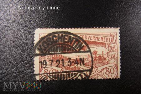 znaczek śląski plebiscytowy Koszęcin