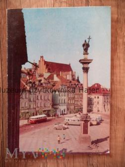 WARSZAWA Plac Zamkowy z kolumną Zygmunta III Wazy