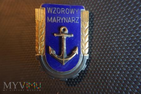 Wzorowy Marynarz- wzór z 1951r.
