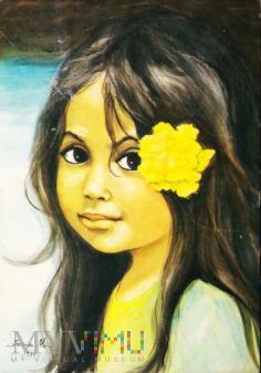 Dziewczynka z kwiatem