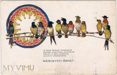 Wesołych Świąt - lata 20/30-te XX w.