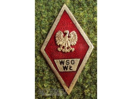 Odznaka WSO Wojsk Łączności