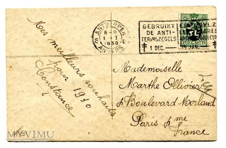 Corbella Nowy Rok Bonne année SYLWESTER Art Deco