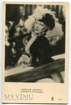 Marlene Dietrich MARLENA JOSPE Holandia nr 575