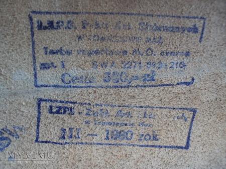 Raportówka MO z 1980r.