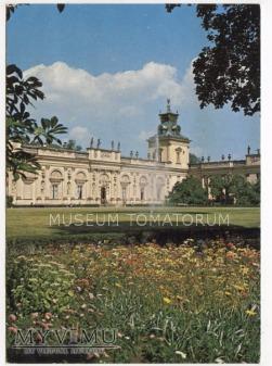 Warszawa - Pałac w Wilanowie - 1985