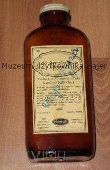 Stara butelka apteczna po lekarstwie ASPIRYN