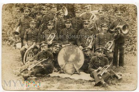 Zdjęcie grupowe - orkiestra górnicza