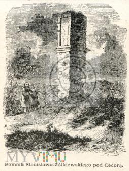 Cecora - pomnik Żółkiewskiego