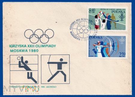 XXII Igrzyska Olimpijskie w Moskwie.31.3.1980.b