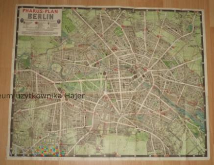 Pharus - Plan Berlin
