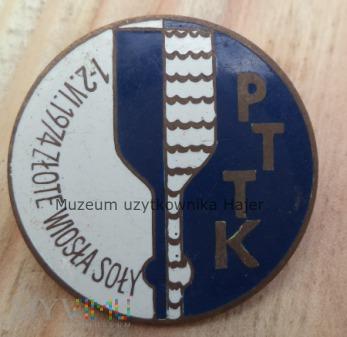 Złote Wiosła Soły 1-2.VI. 1974 PTTK - odznaka