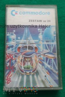 Zestaw nr 24 - gra na commodore