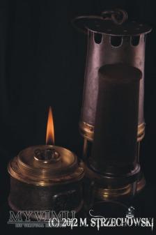 Lampa górnicza olejowa Dufrane et Castiau