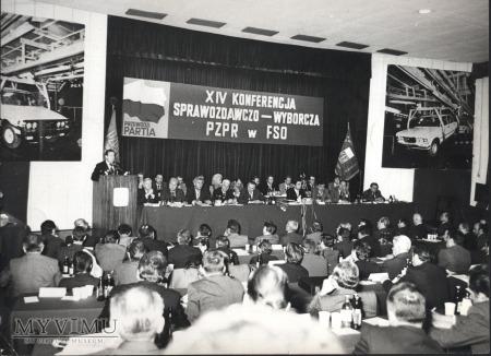 XIV Konferencja PZPR w FSO