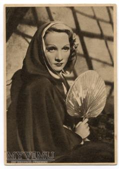 Marlene Dietrich Pocztówka Colosseum Films Włochy