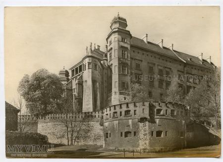 Kraków - Wawel od północy- lata 40-te