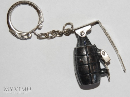 Duże zdjęcie Brelok granat-pułapka
