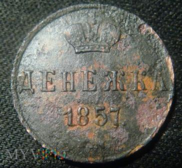 Zabór Rosyjski - dienieżka 1857